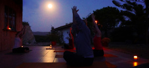 chandra namaskara / moon salutation