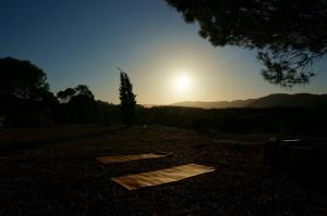 the morning playground / sun salutation